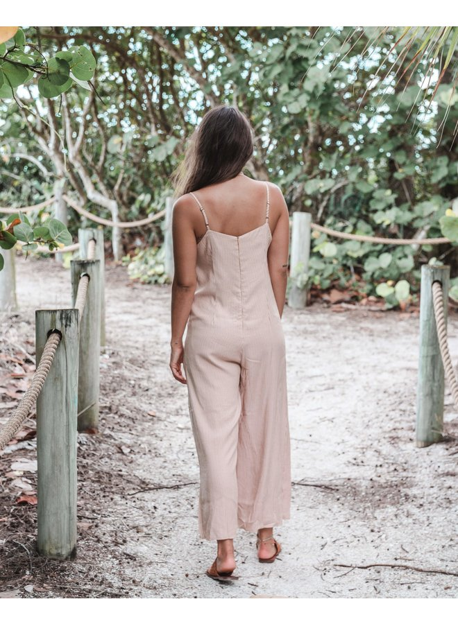 Moroccan Clay Jumpsuit