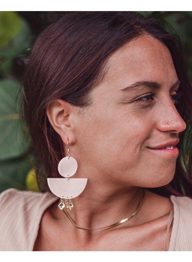 Bokeelia Clay Earrings