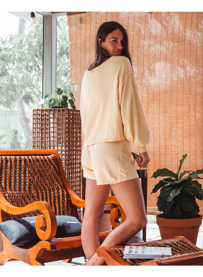 Mellow Yellow Soft Shorts
