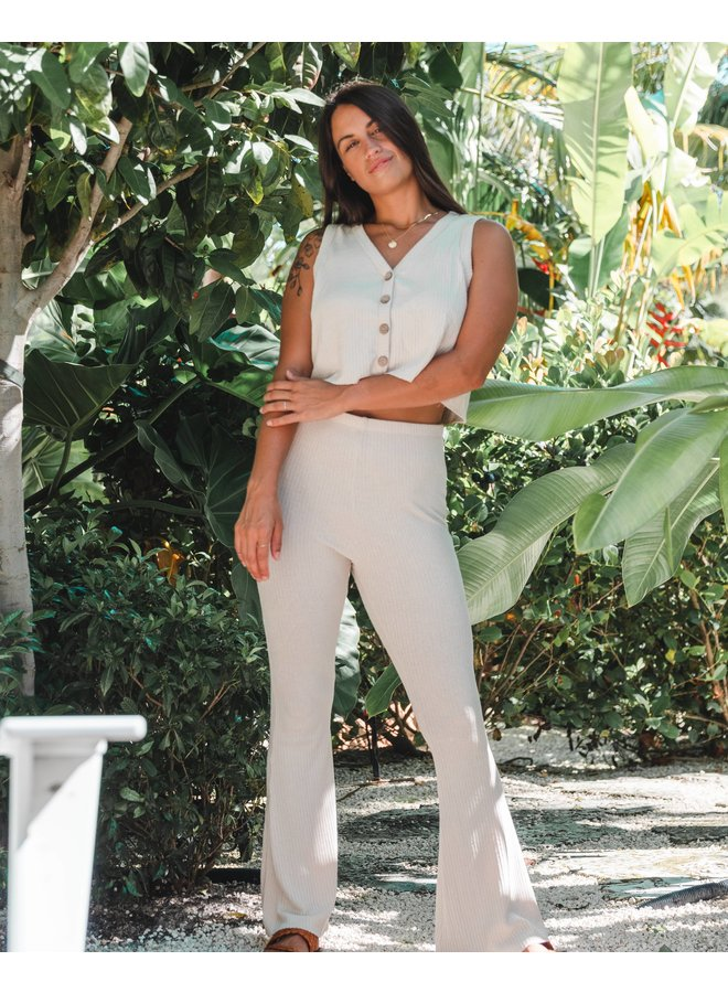 Coconut Flare Pants