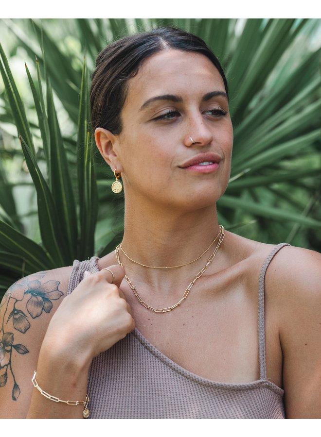 Natalia Cocoa Waffle Knit Tank