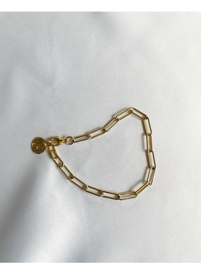 Sofie Medium Paperclip Bracelet