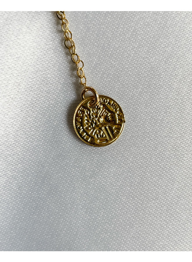 Athena Gold Chain with Coins