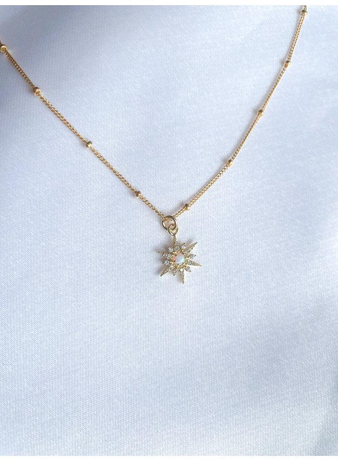 Opal w/ Cz Star