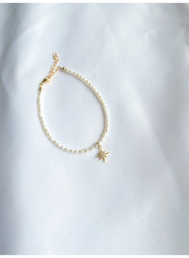 Pearlie Starburst Bracelet