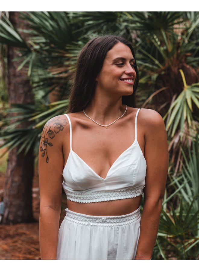 Ivy Embroidered Bralette
