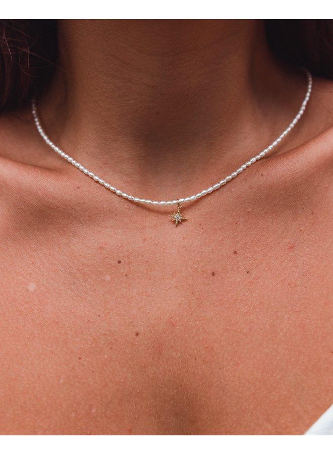 Pearlie Starburst Necklace