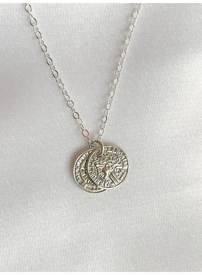 Sil. Petite Coin Necklaces