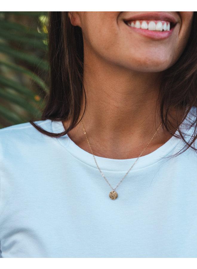 Alexis Gold Petite Coins Necklace