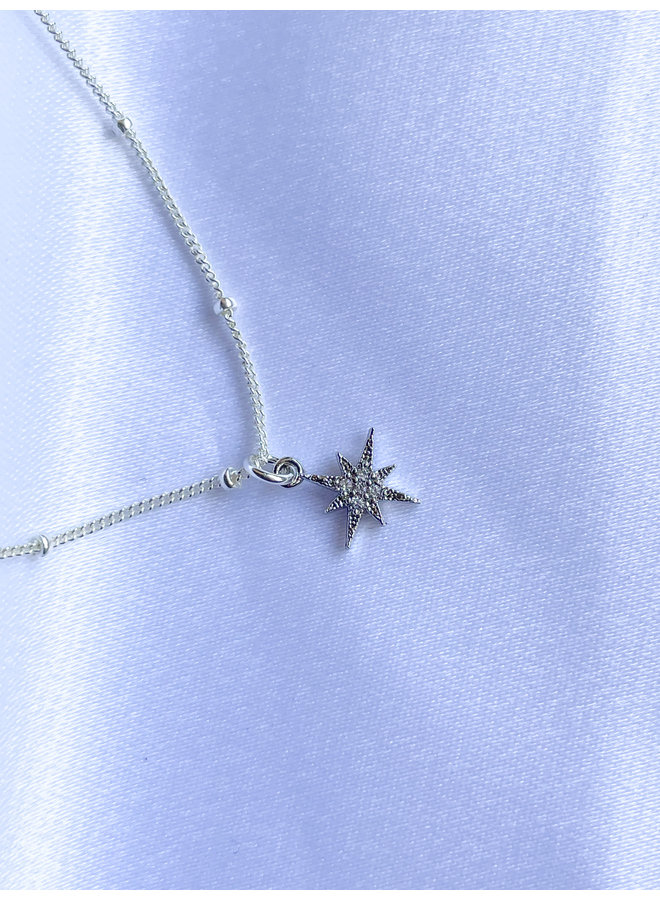 Silver Starburst Chockers