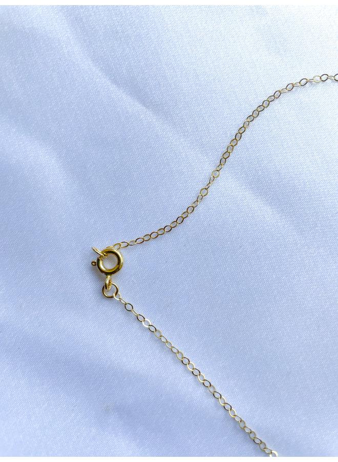 Daphne Drop Opal Necklace