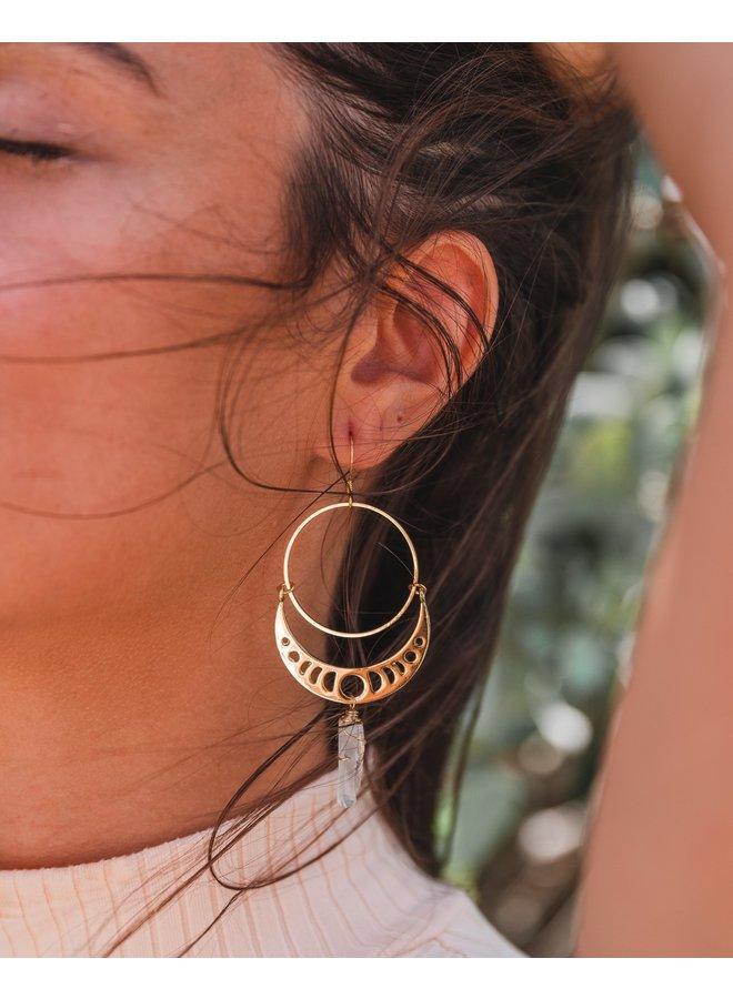 Bai Crystal Earrings