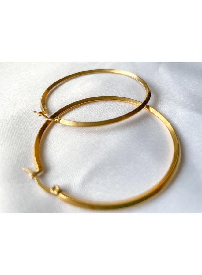Isa Gold Hoops