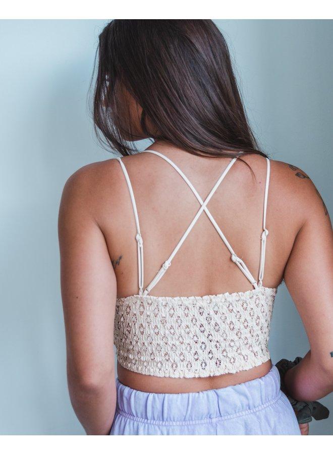 Lacey Crochet Bralette
