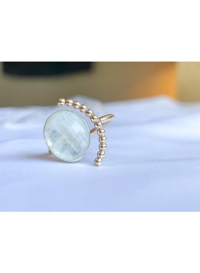 Moonstone Balance Ring
