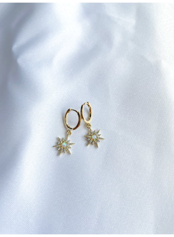 Nomad's Map Earring