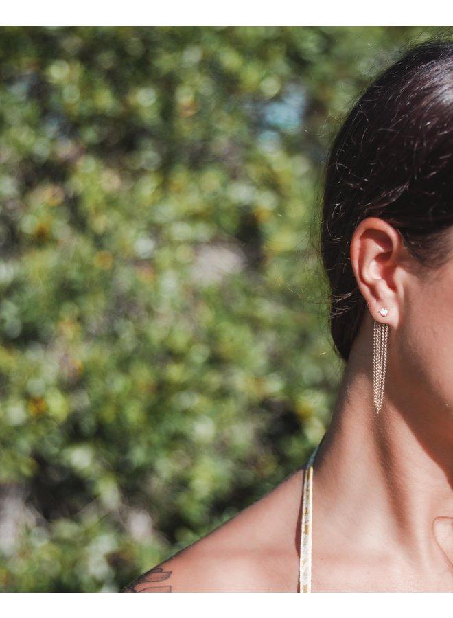 Sunday Showers Opal Earrings