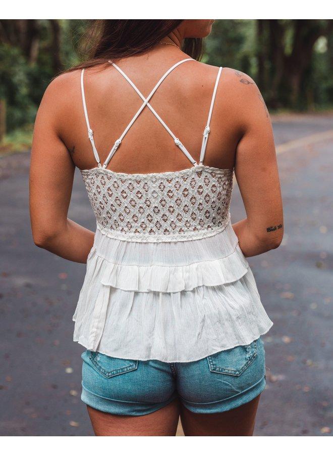 Lace Cami  Crochet  Zandaya