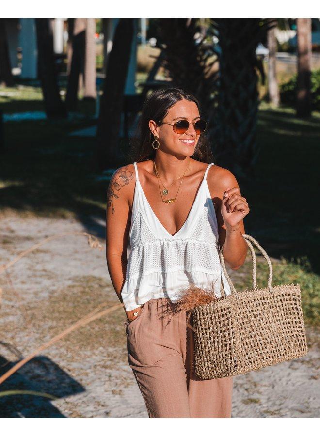 Mar Basket Beach Bag