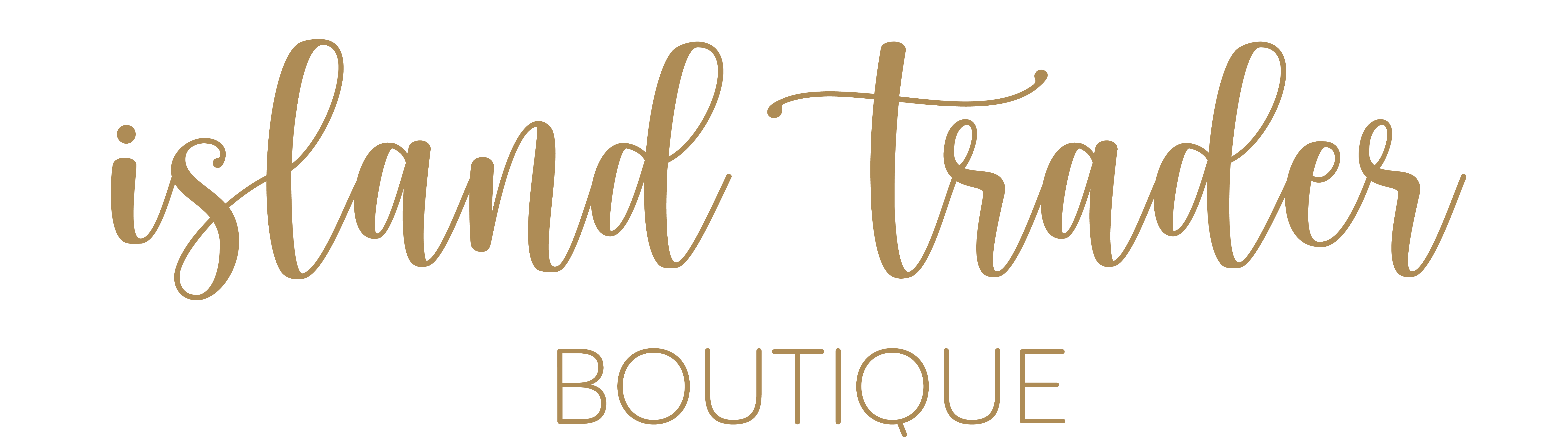 Shop Island Trader Boutique | Be on Island Time All the Time