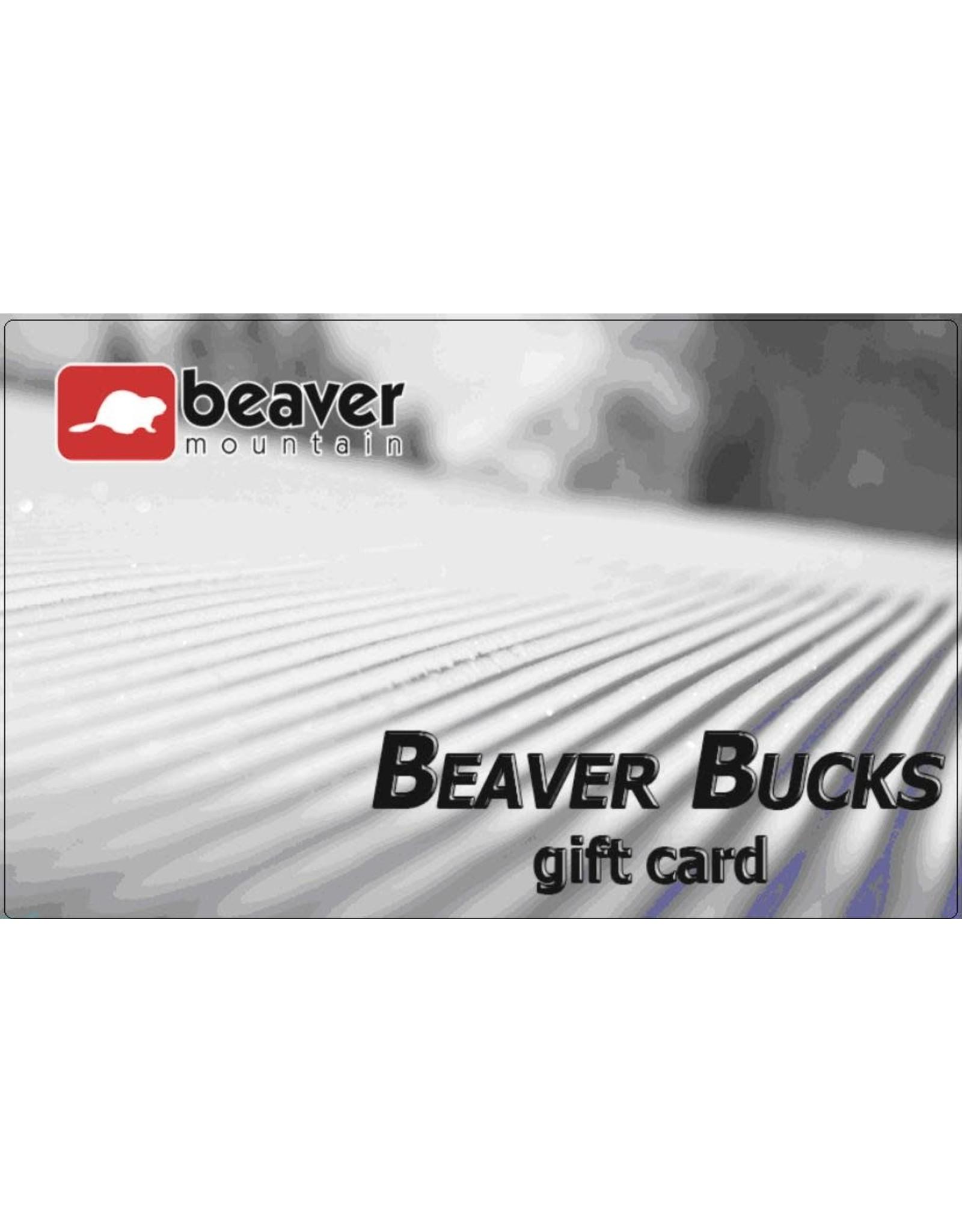 Beaver Mountain Beaver Mountain Gift Card