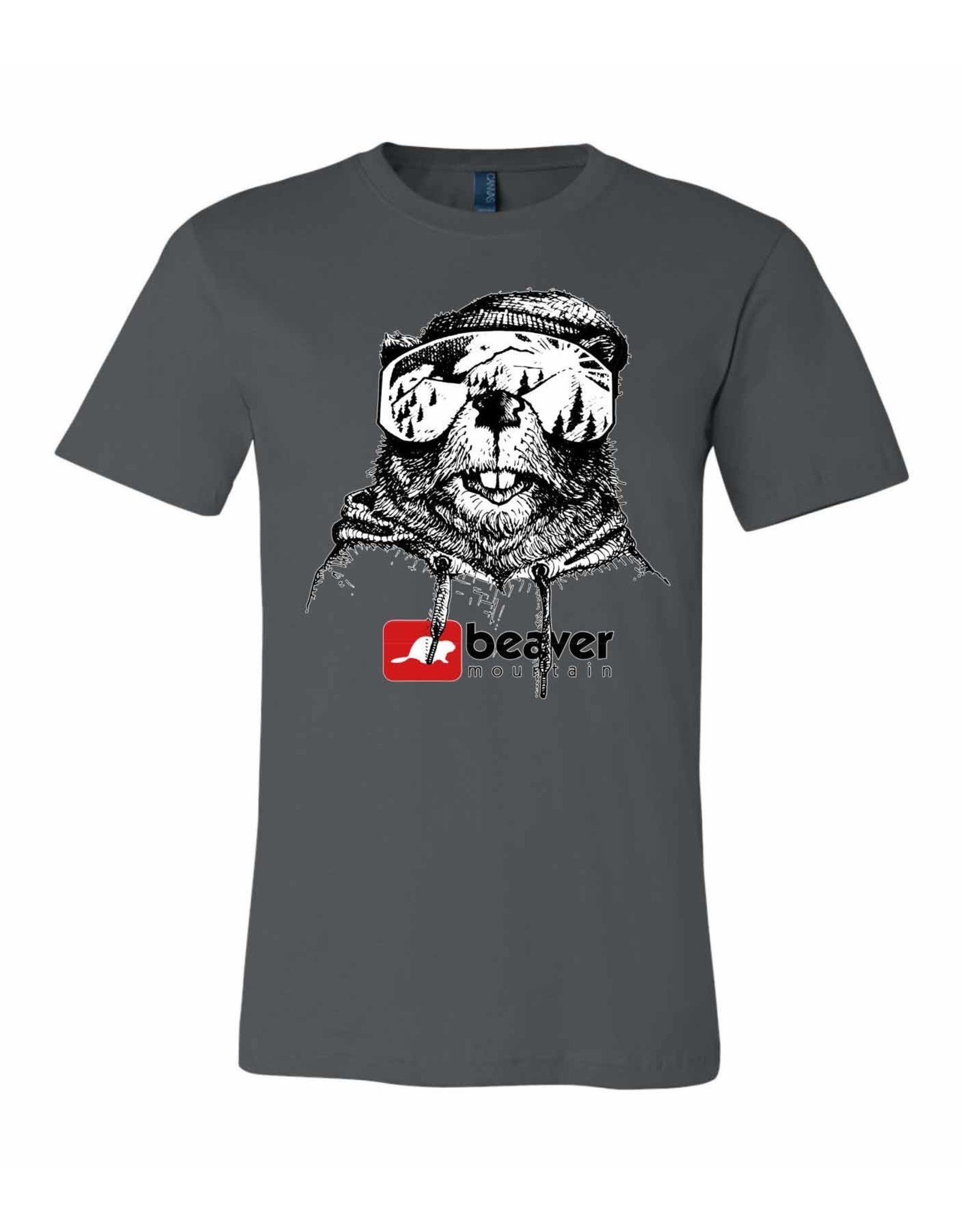 Bella Canvas Goggle Beaver T-Shirt