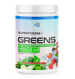 Believe Organics Believe - Superfoods + Greens, Mixed Berries (300g)
