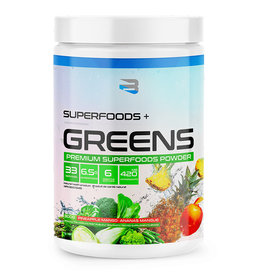 Believe Organics Believe - Superfoods + Greens, Pineapple Mango (300g)