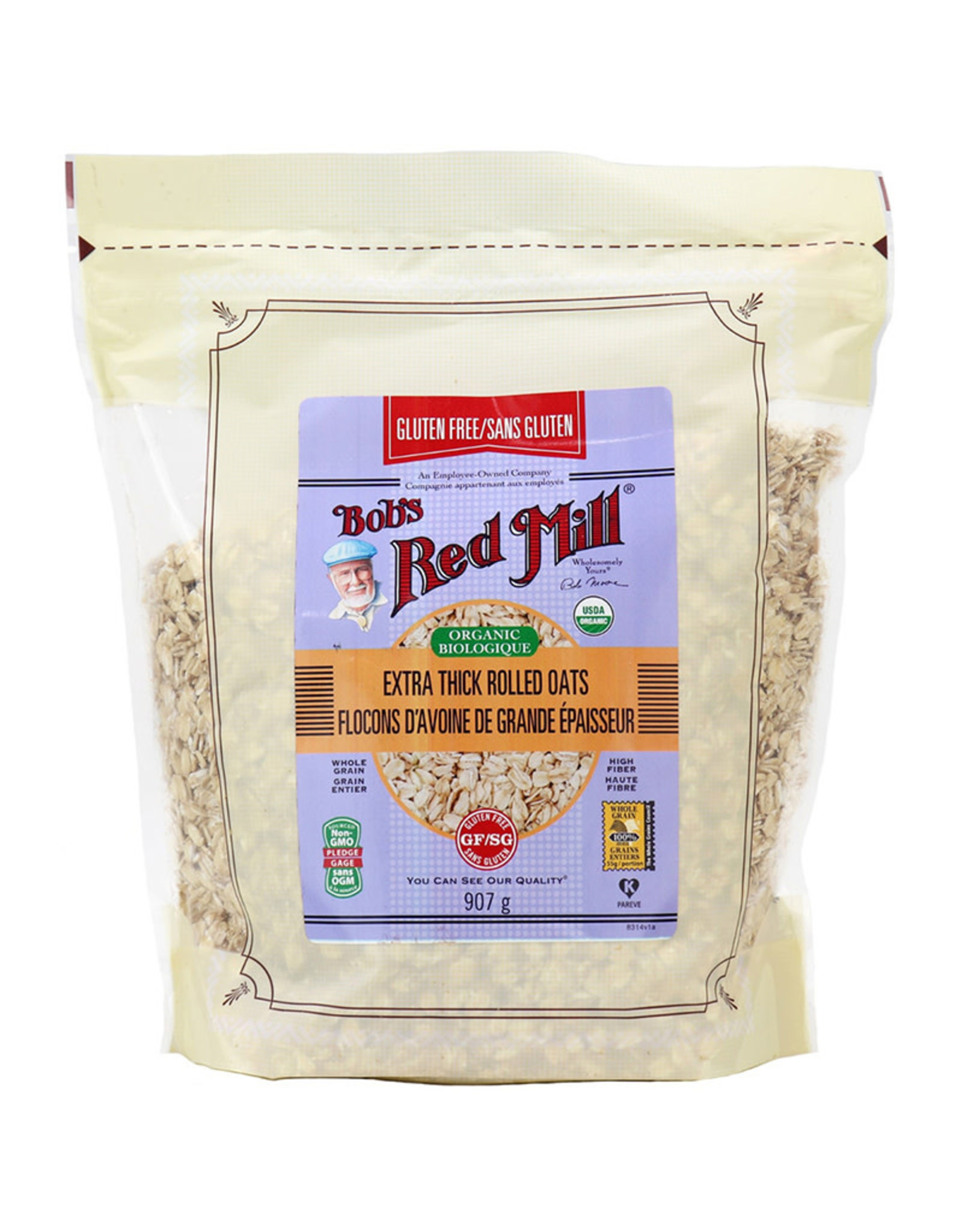 Bobs Red Mill Bobs Red Mill - GF Organic Rolled Oats (907g)