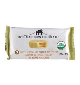 Brooklyn Born Chocolate Brooklyn - Peanut Butter Cups, White Chocolate (70g)