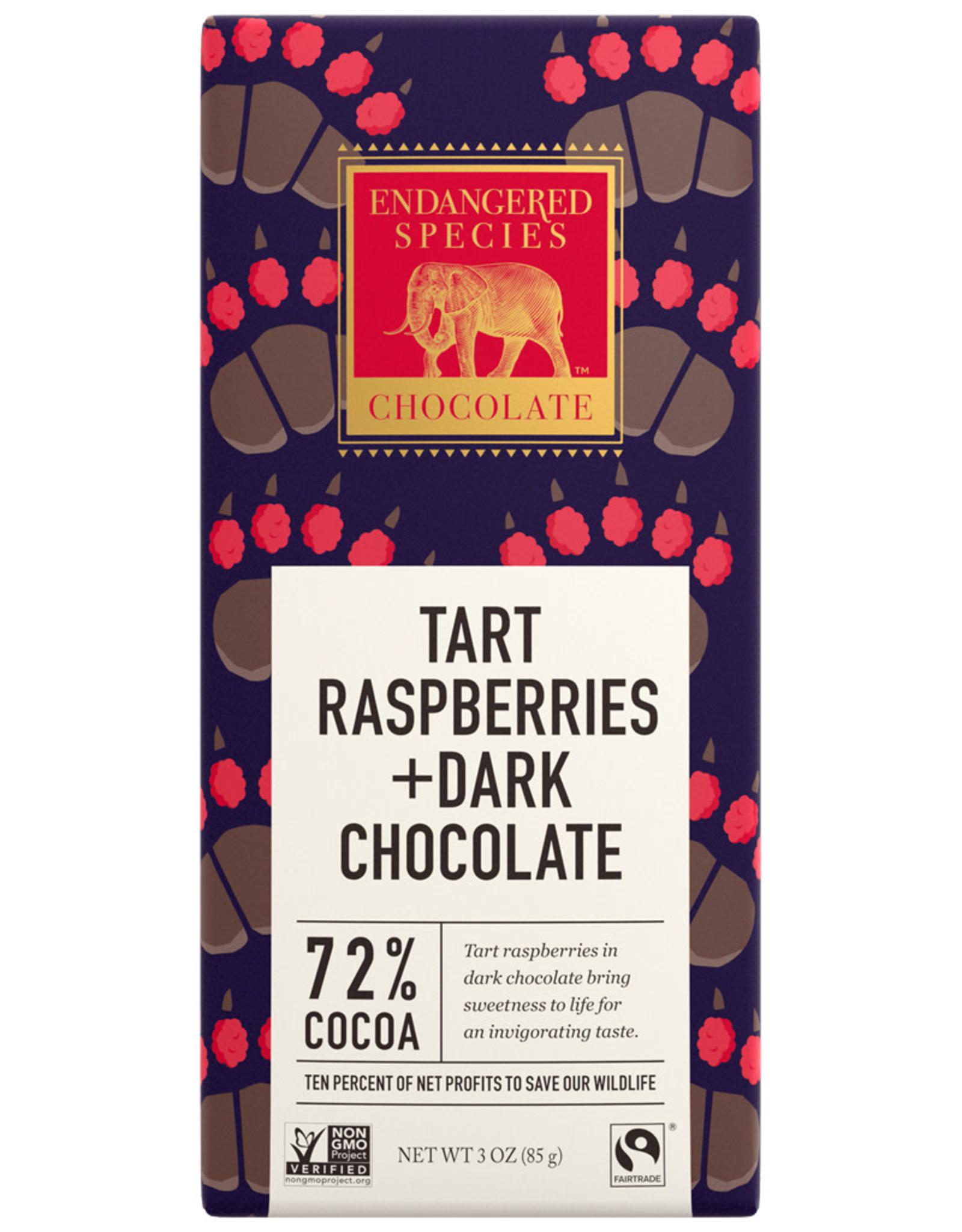 Endangered Species Endangered Species - Dark Chocolate Bar, Raspberries