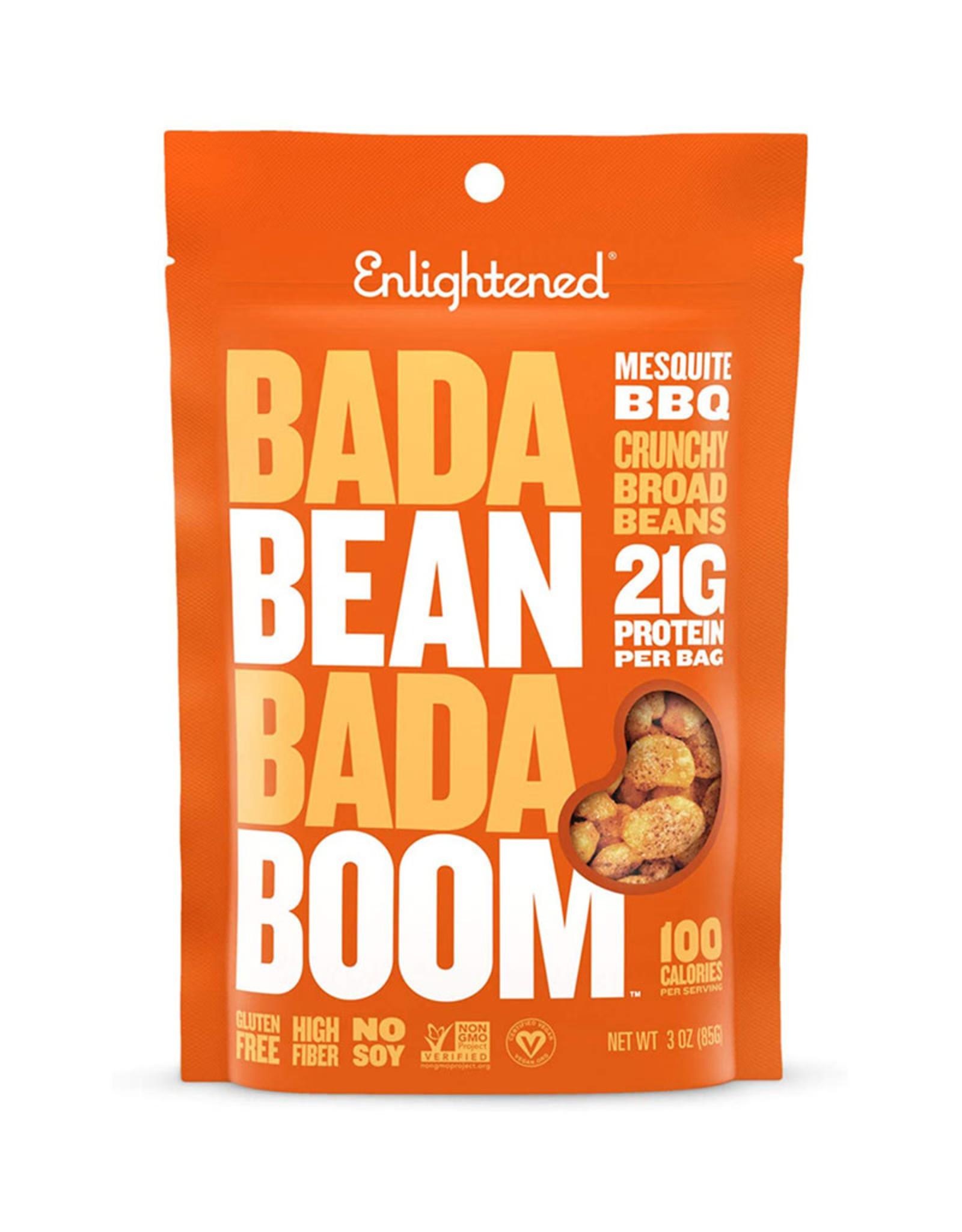 Enlightened Enlightened - Roasted Broad Bean Crisps, Mesquite BBQ