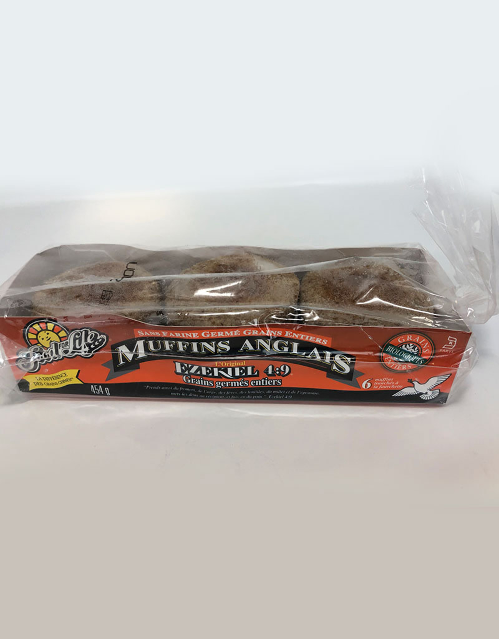 Food for Life FFL - English Muffin, Ezekiel Sprouted Whole Grain