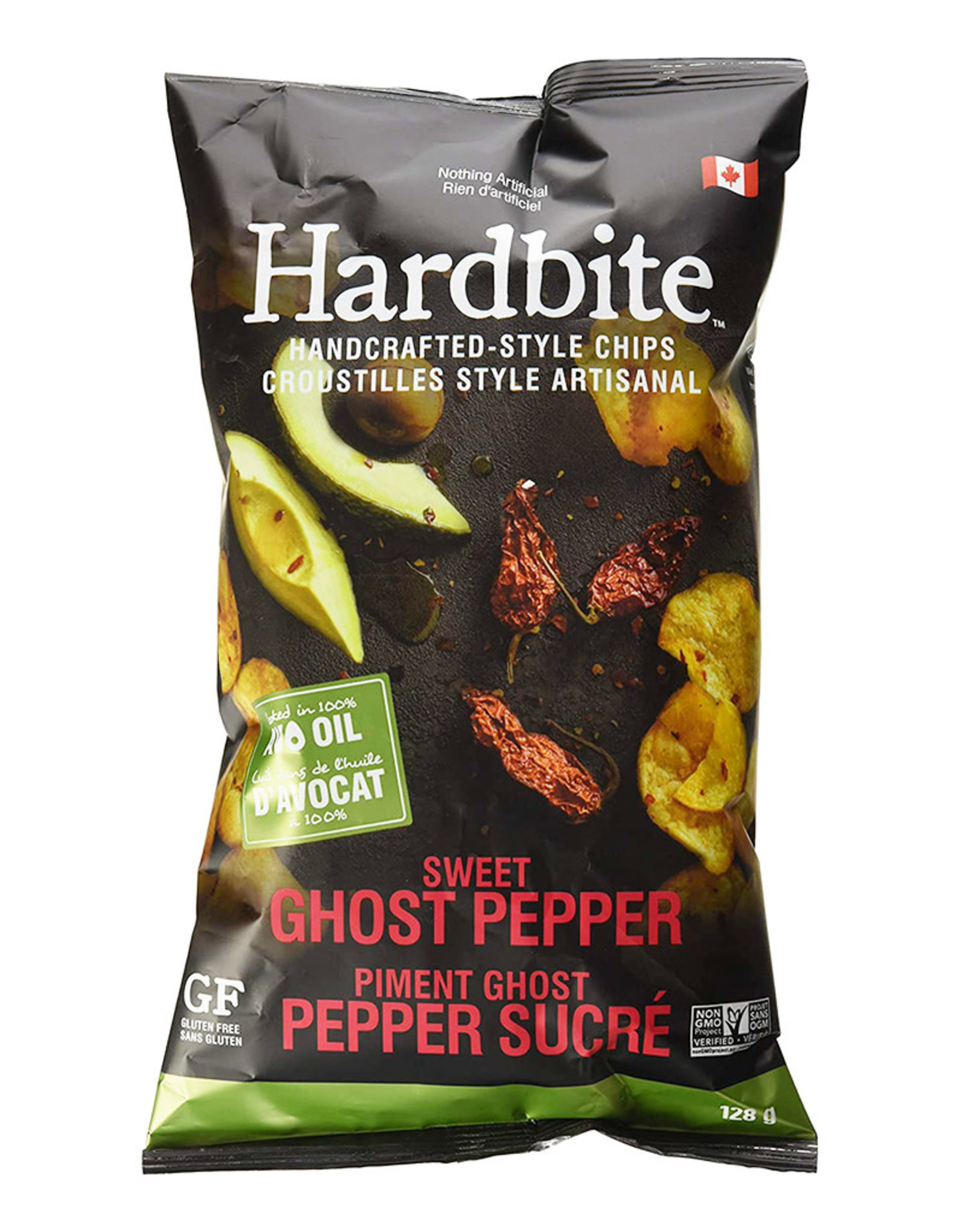 Hardbite Hardbite - Chips, Sweet Ghost Pepper with Avocado Oil (128g)
