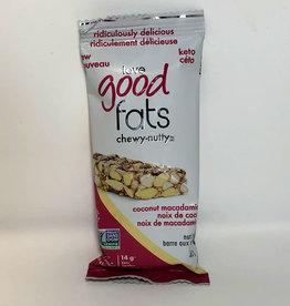 Love Good Fats Love Good Fats - Chewy-Nutty, Coconut Macadamia (40g)