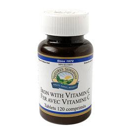 Natures Sunshine NS - Iron & Vitamin C (120 tabs)
