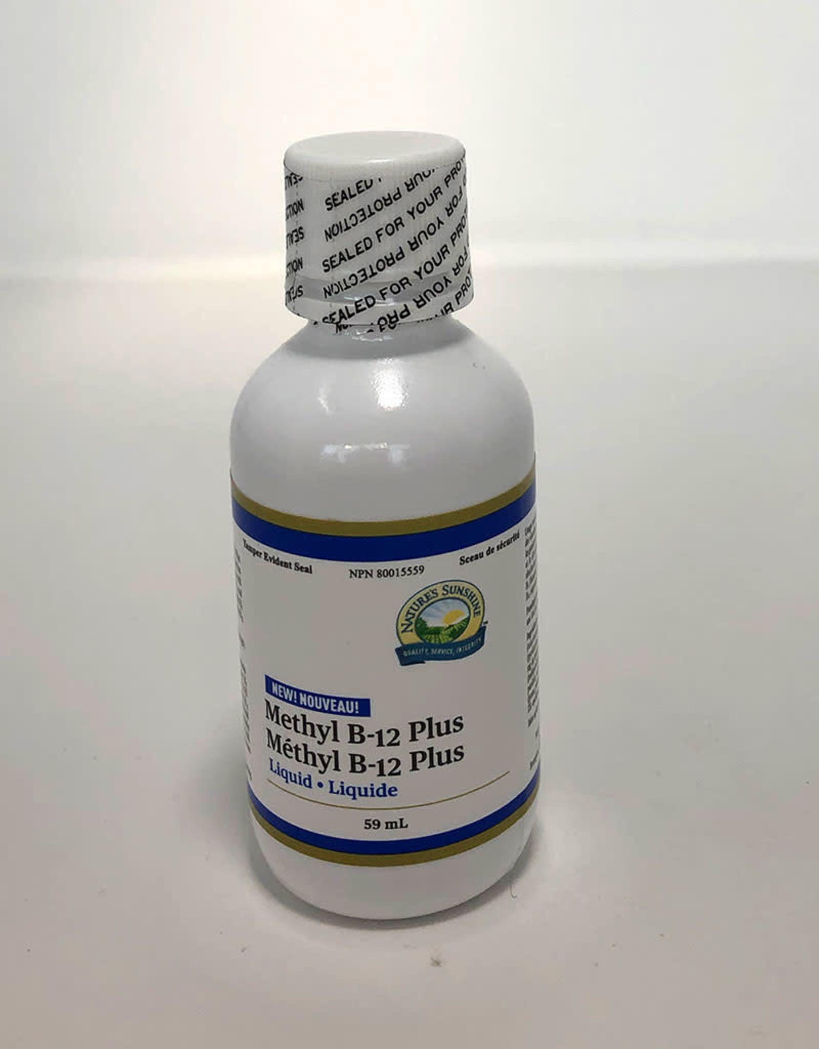 Natures Sunshine NS - Methyl B-12 Plus, 59ml