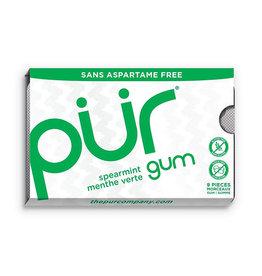 PUR PUR - Gum, Spearmint (9pc)