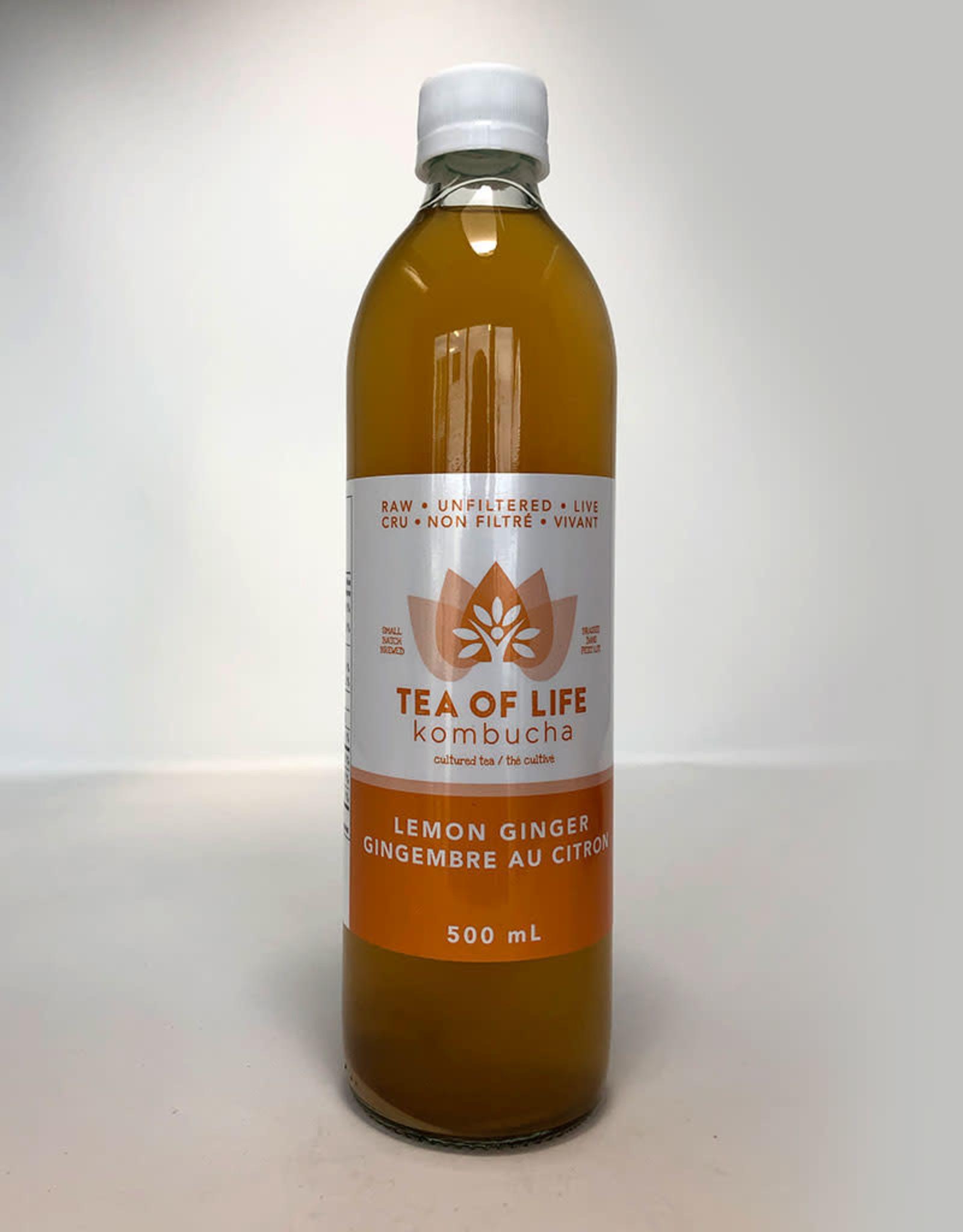 Tea of Life Tea of Life - Kombucha, Lemon Ginger