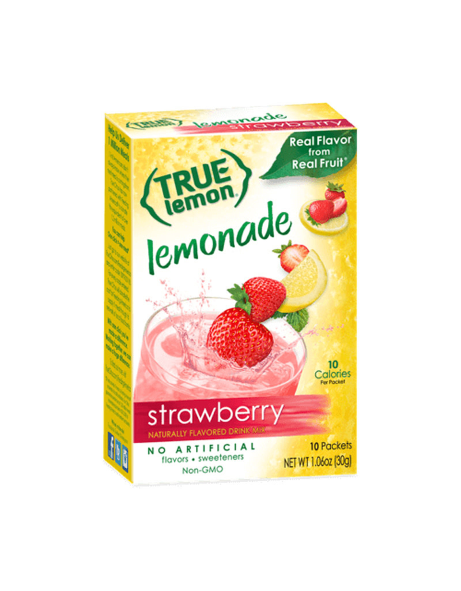 True Citrus True Citrus - Strawberry Lemonade (10pk)