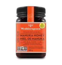 Wedderspoon Wedderspoon - Manuka Honey, 500g