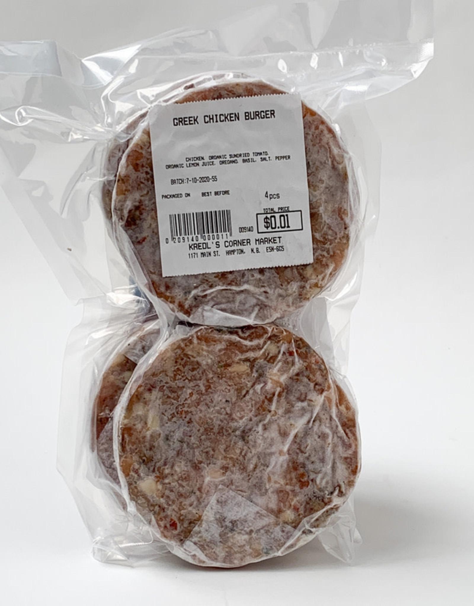 Kredls Kredls - Greek Chicken Patties (4pk)