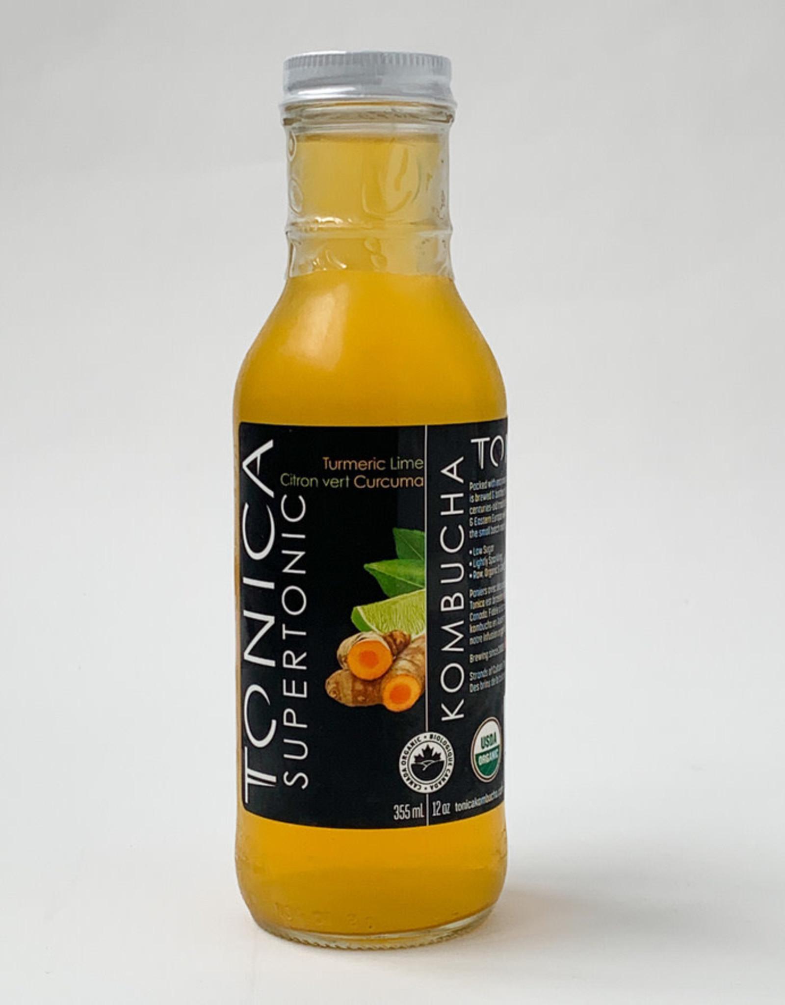 Tonica Tonica   Kombucha, Tumeric Lime Supertonic 20ml