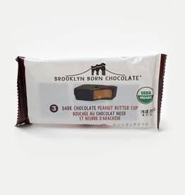 Brooklyn Born Chocolate Brooklyn - Peanut Butter Cups, Dark Chocolate (70g)