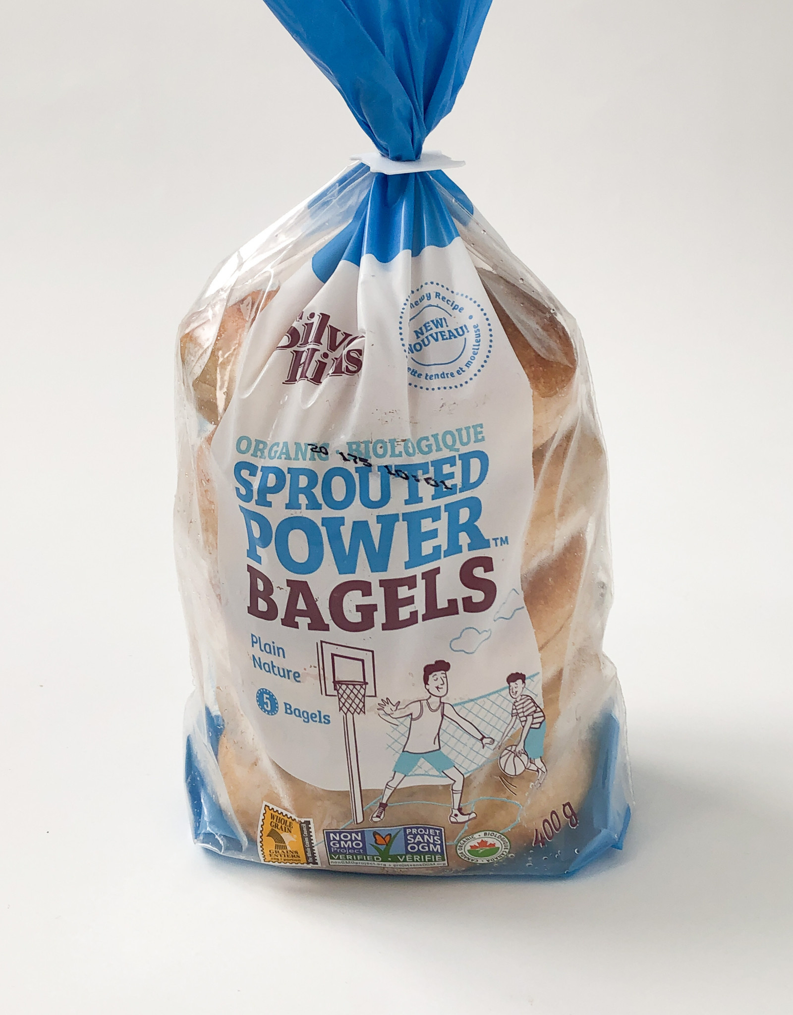 Silver Hills Bakery Silver Hills - Sprouted Bagels, Plain