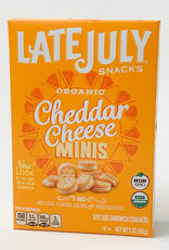Late July Late July - Crackers, Mini Cheddar Cheese