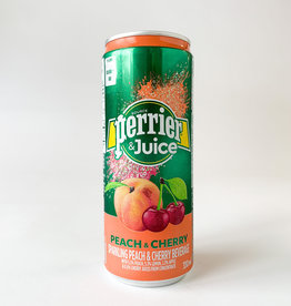 Perrier Perrier and Juice - Peach and Cherry 330 ml