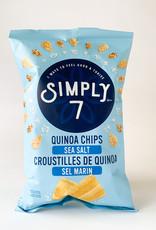 Simply 7 Simply 7 - Quinoa Chips, Sea Salt (100g)