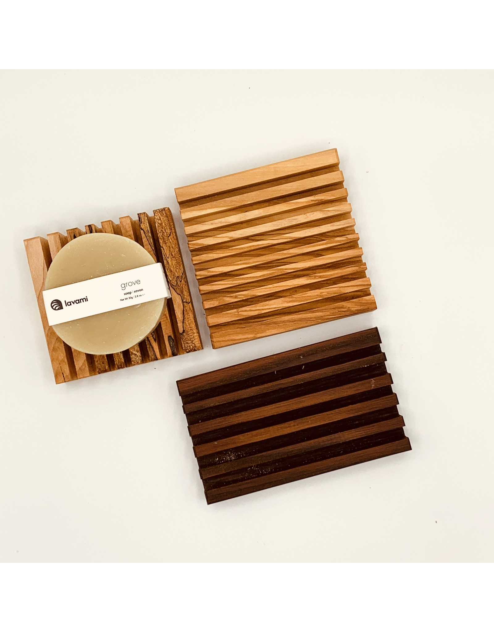 EcoFillosophy Wooden Soap Dish