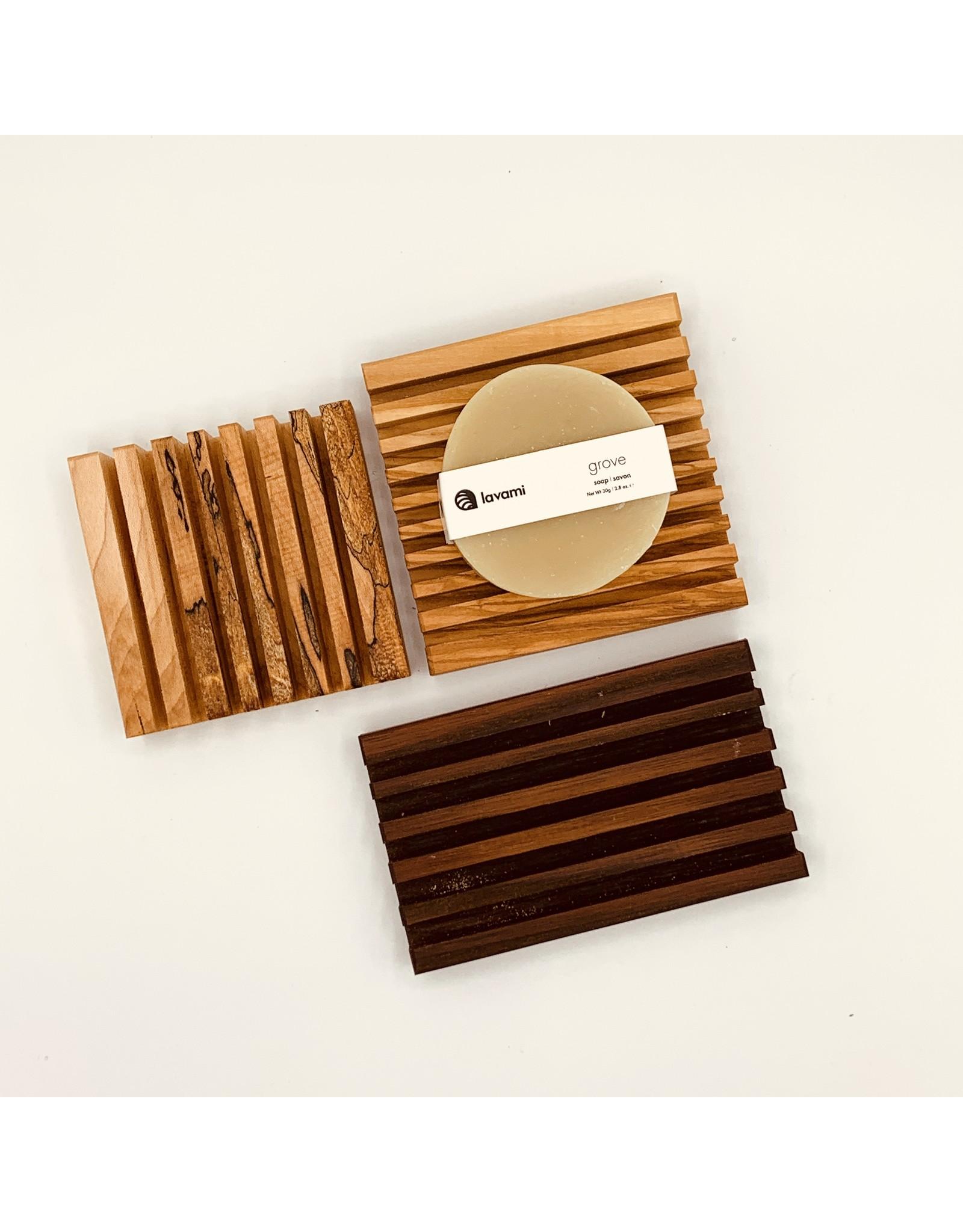 EcoFillosophy Wooden Soap Dish